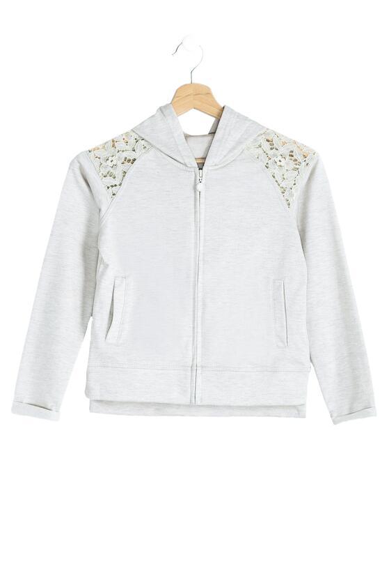 Beżowa Bluza Lace-Maker