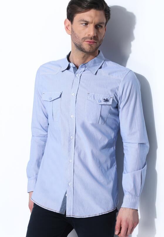 Jasnoniebieska Koszula Innovation