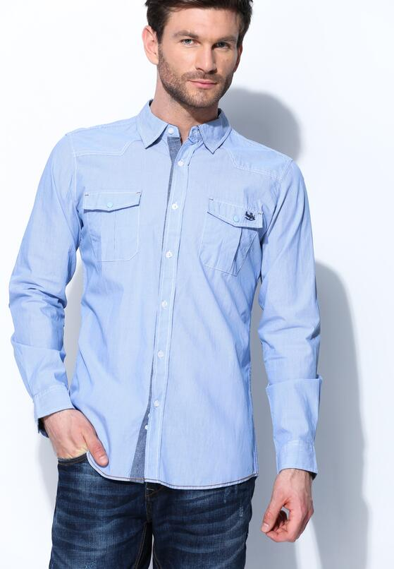 Niebieska Koszula Innovation