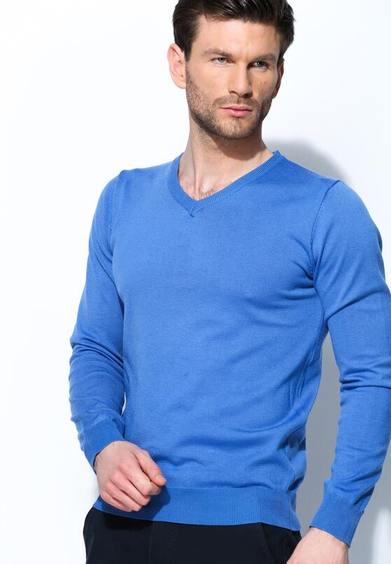 Niebieski Sweter Nooklike