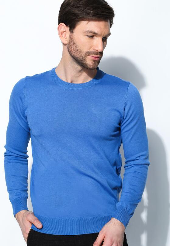 Niebieski Sweter Basis