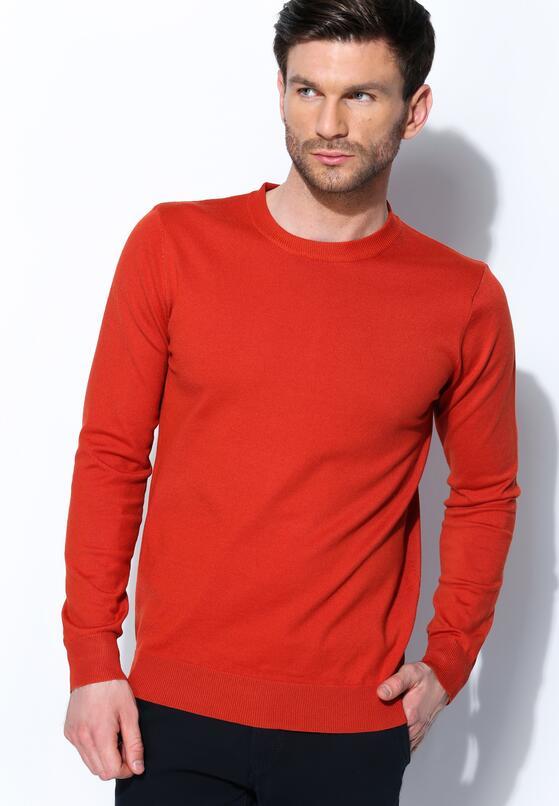 Pomarańczowy Sweter Wild Card
