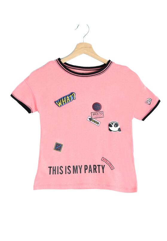 Różowa Koszulka Cocktail Party