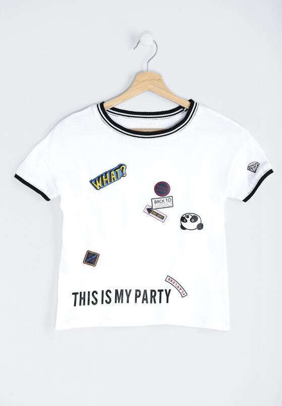 Biała Koszulka Cocktail Party