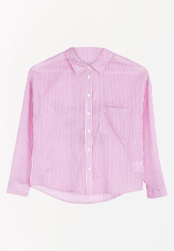 Różowa Koszula Vertical Belt
