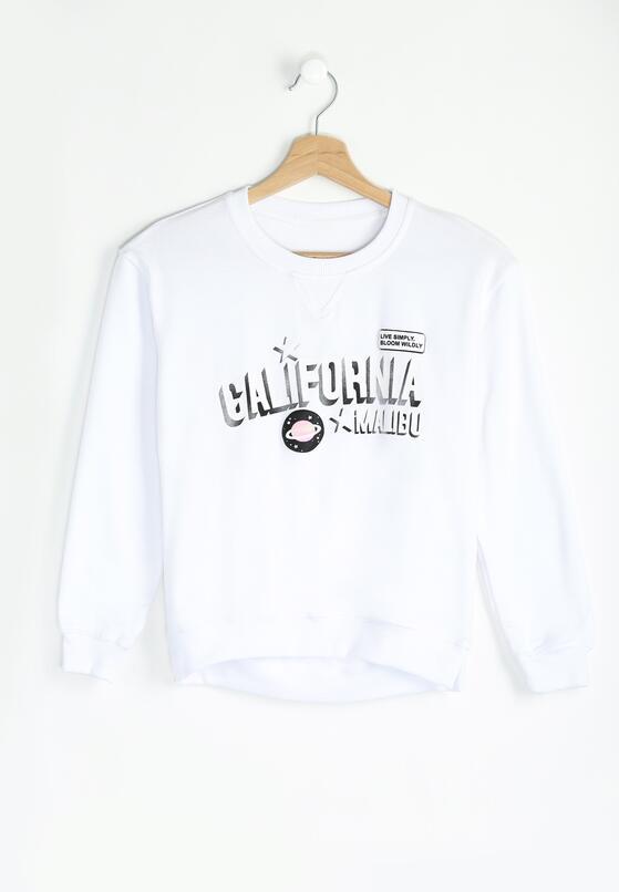 Biała Bluza Live Simply
