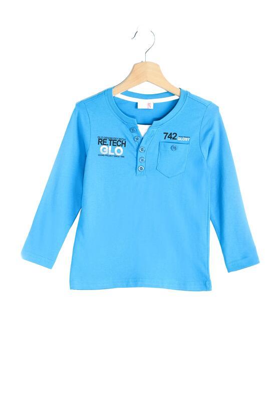 Niebieska Koszulka Number!