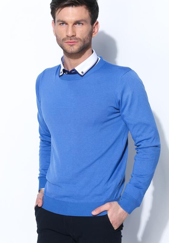 Ciemnoniebieski Sweter Whom