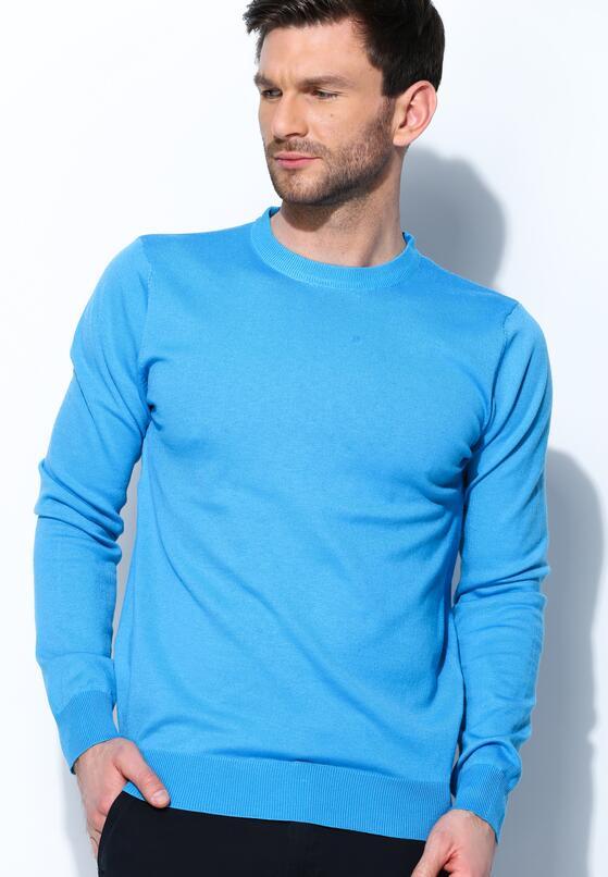 Niebieski Sweter Whom