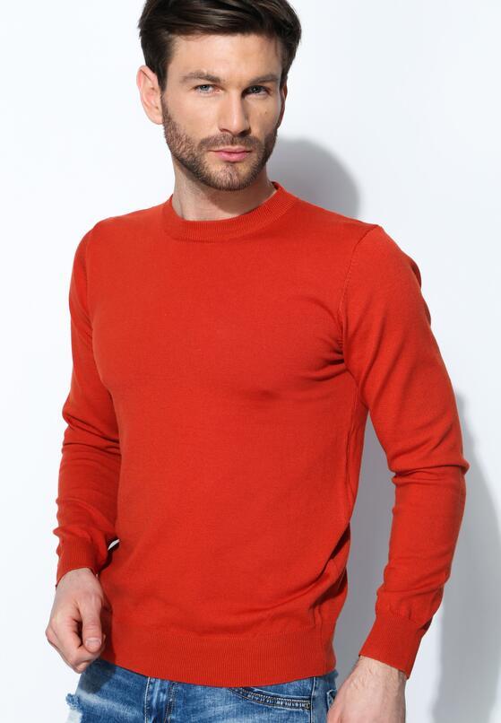 Pomarańczowy Sweter Whom