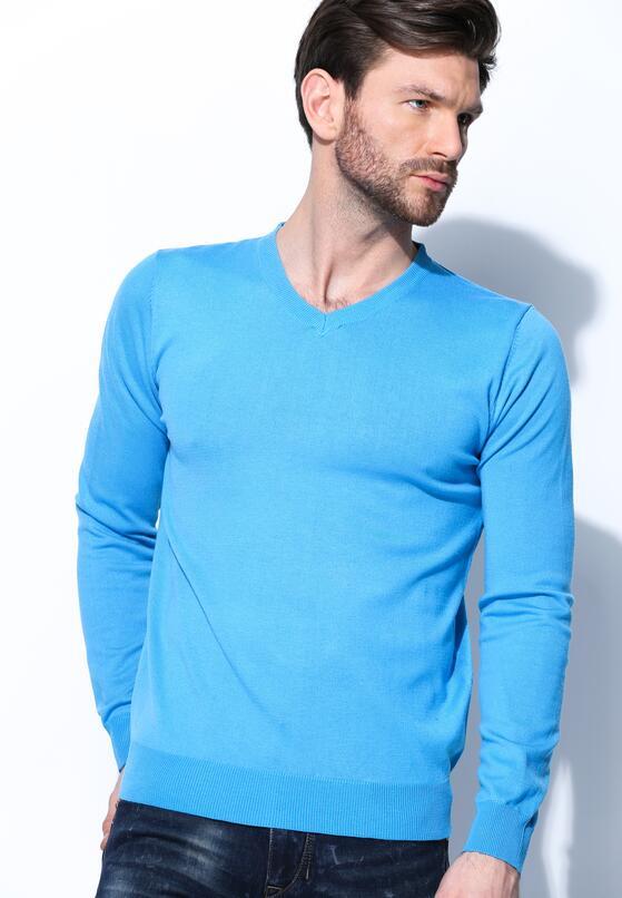 Niebieski Sweter Real Life