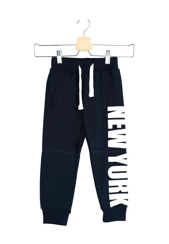 Granatowe Spodnie Yankee