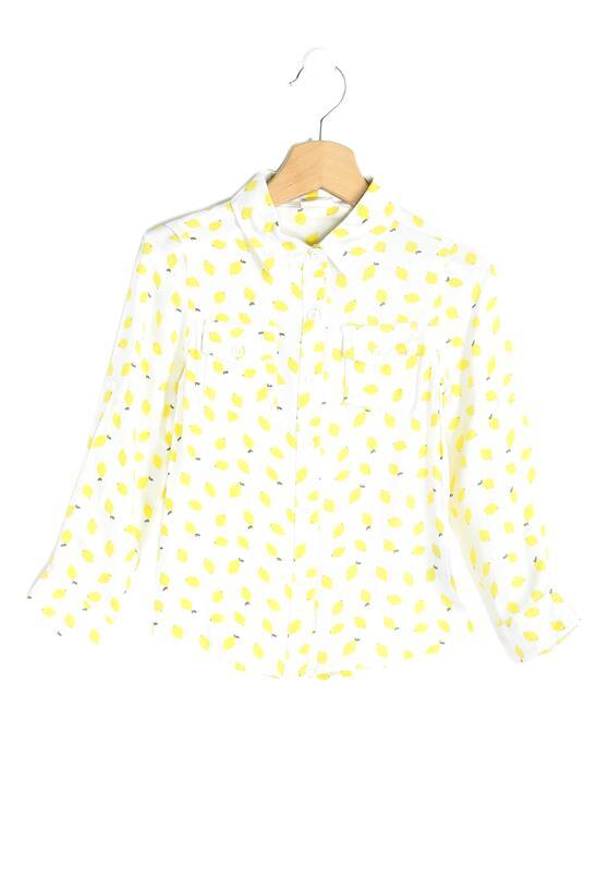 Biało-Żółta Koszula Lemony
