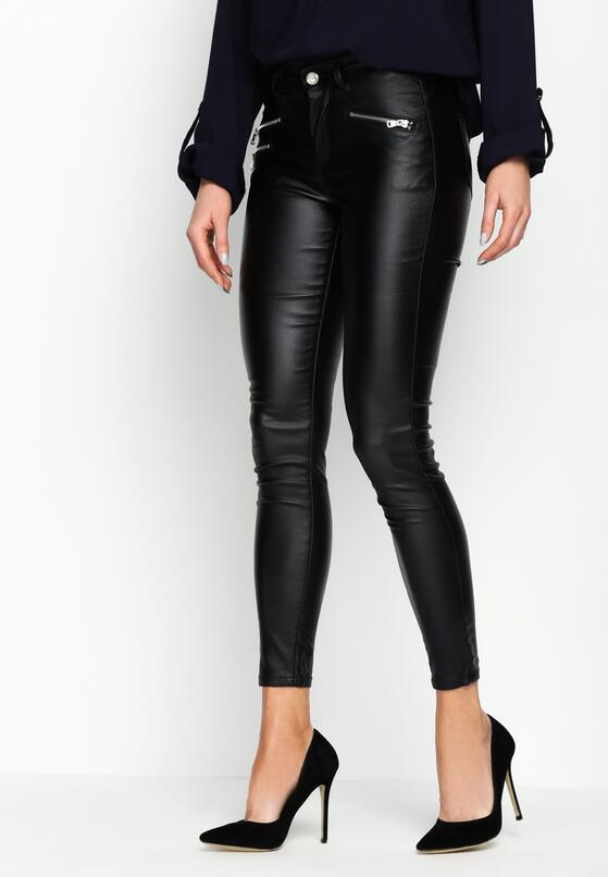 Czarne Spodnie Tin Tin