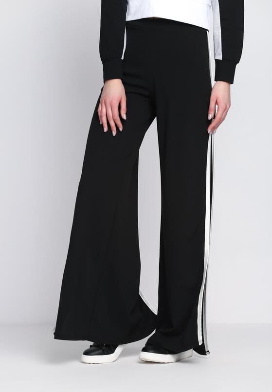 Czarno-Białe Spodnie Good As New