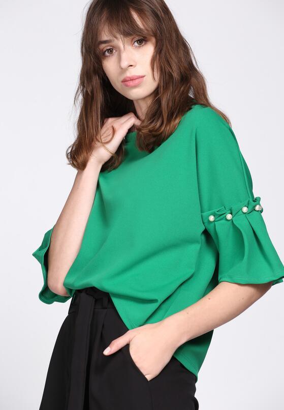Zielona Bluzka Romantic Way