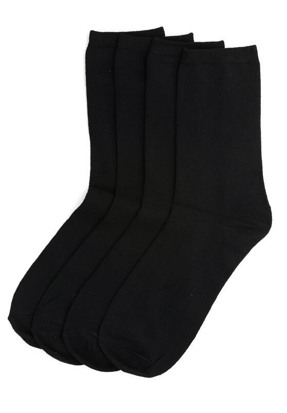 10-pack Czarnych Skarpetek Daze