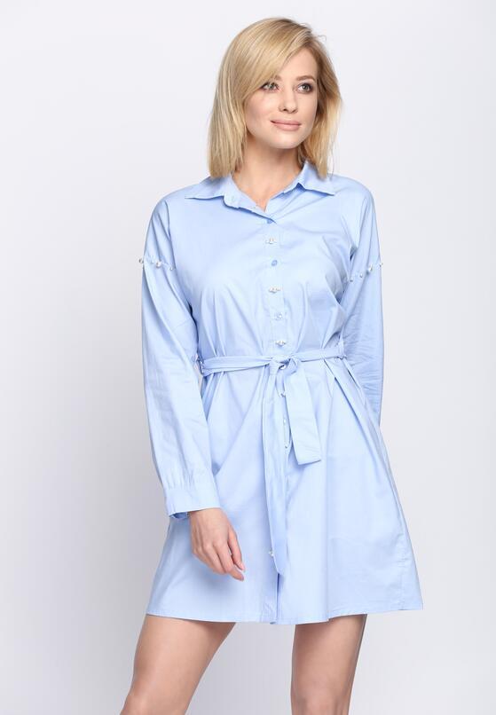Niebieska Sukienka Sirene