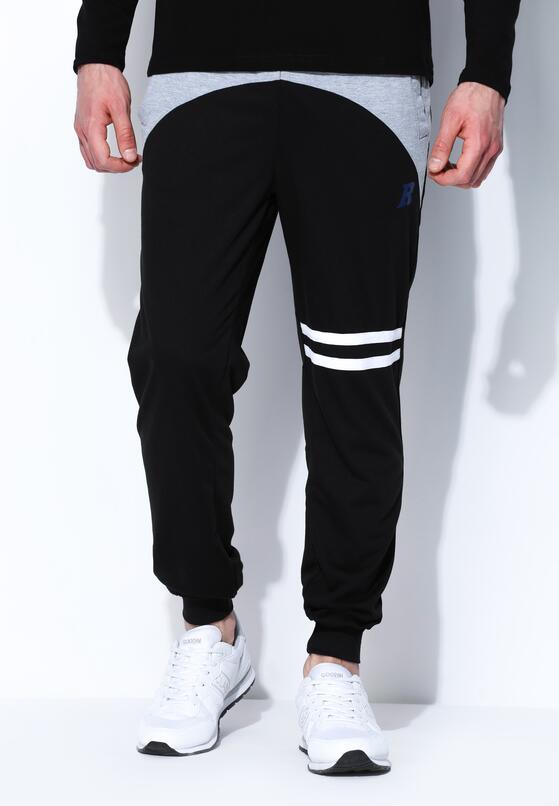 Czarno-Szare Spodnie Dresowe Near Perfect