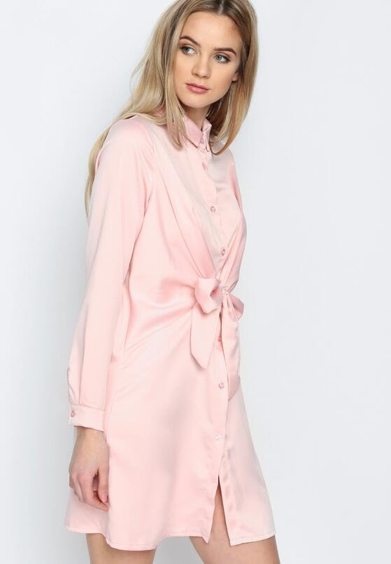 Różowa Sukienka Good News
