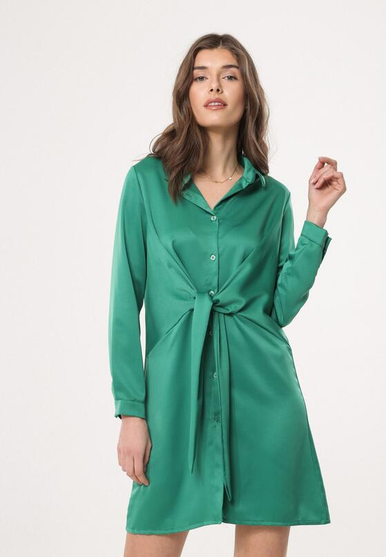 Zielona Sukienka Good News