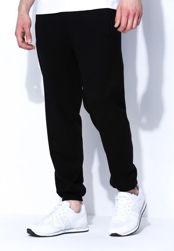 Czarne Spodnie Dresowe Pure Simpleness