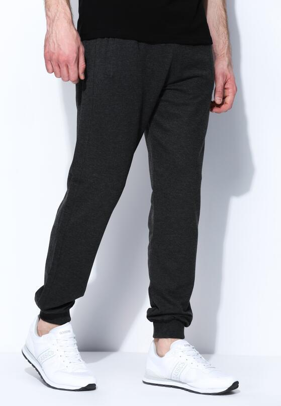 Ciemnoszare Spodnie Dresowe Pure Simpleness