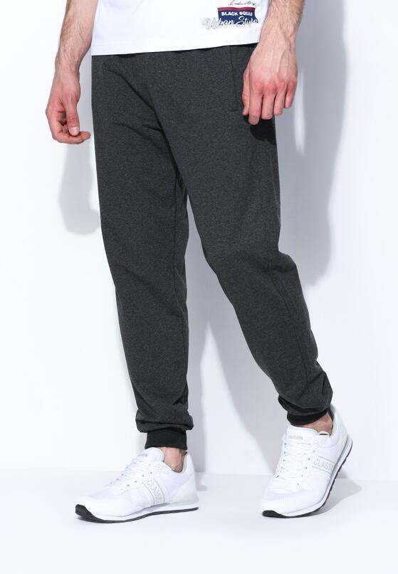 Szare Spodnie Dresowe Pure Simpleness