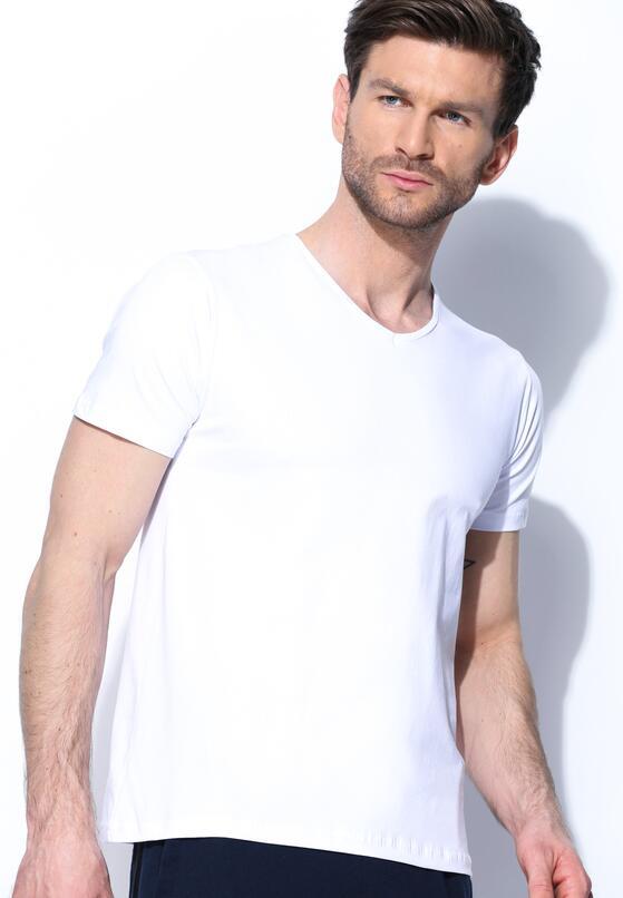 Biała Koszulka Simple Fact