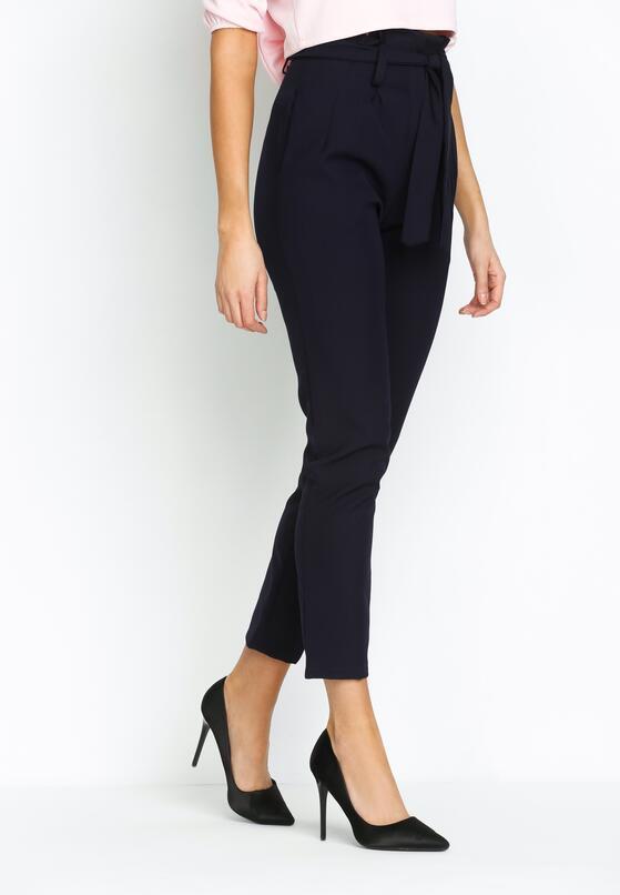 Granatowe Spodnie Classical