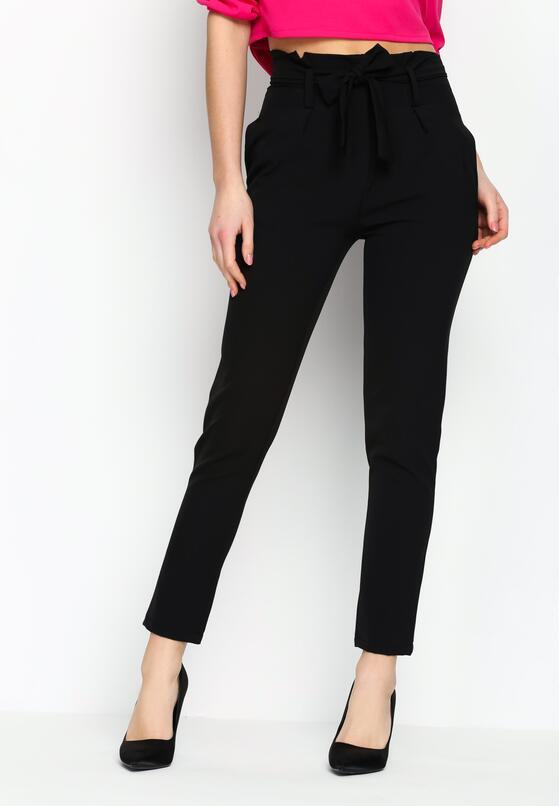 Czarne Spodnie Classical