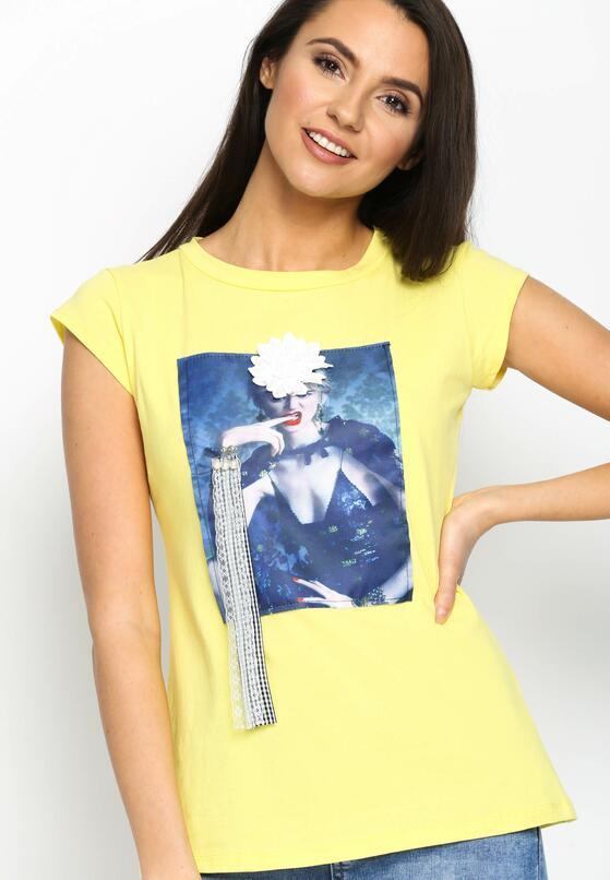 Żółty T-shirt Added Value