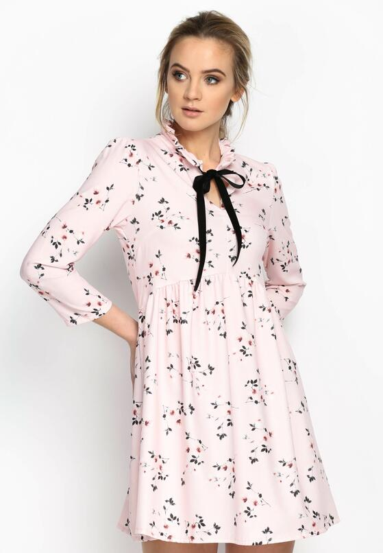 Różowa Sukienka Beauty Total