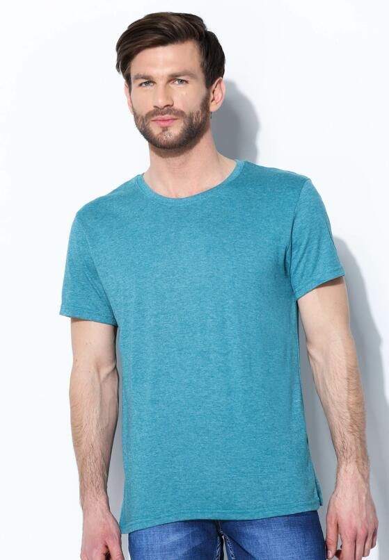 Niebieska Koszulka Glaring