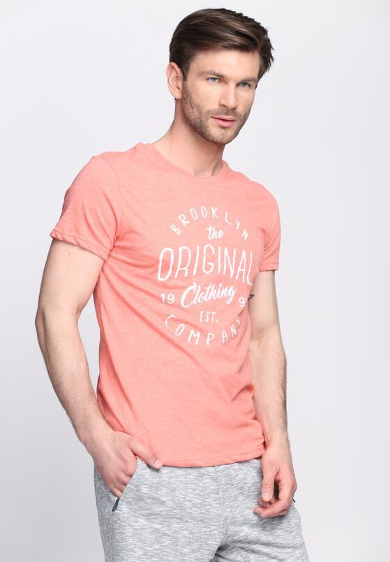 Koralowa Koszulka Brooklyn Company