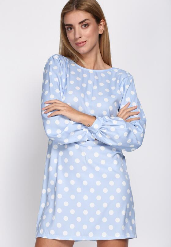 Niebieska Sukienka Romantic Story