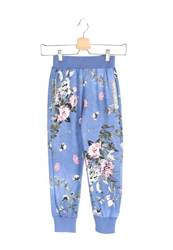 Niebieskie Spodnie Dresowe Garden Dream