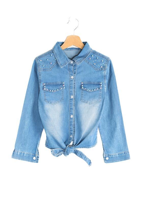 Niebieska Koszula Poop