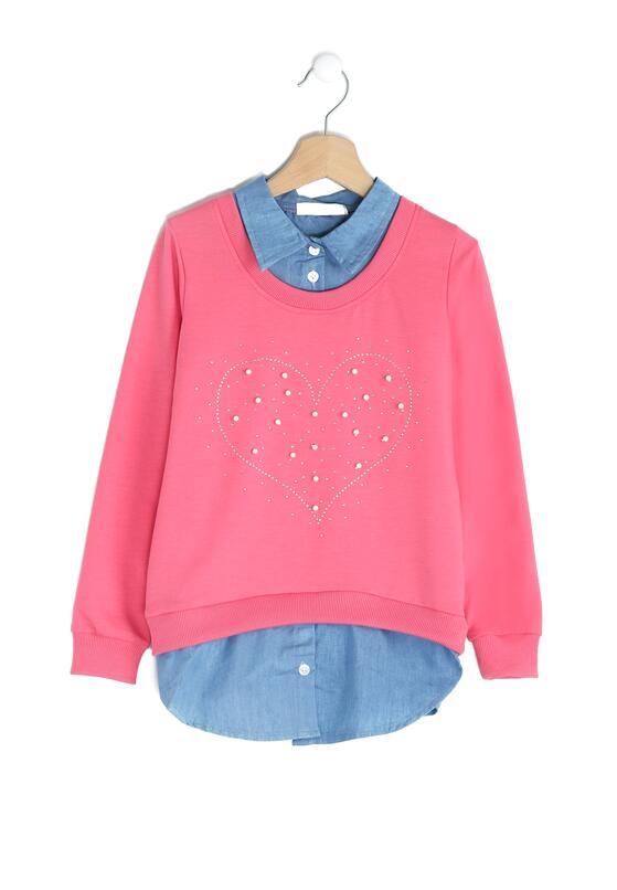 Różowa Bluzka Heartiness