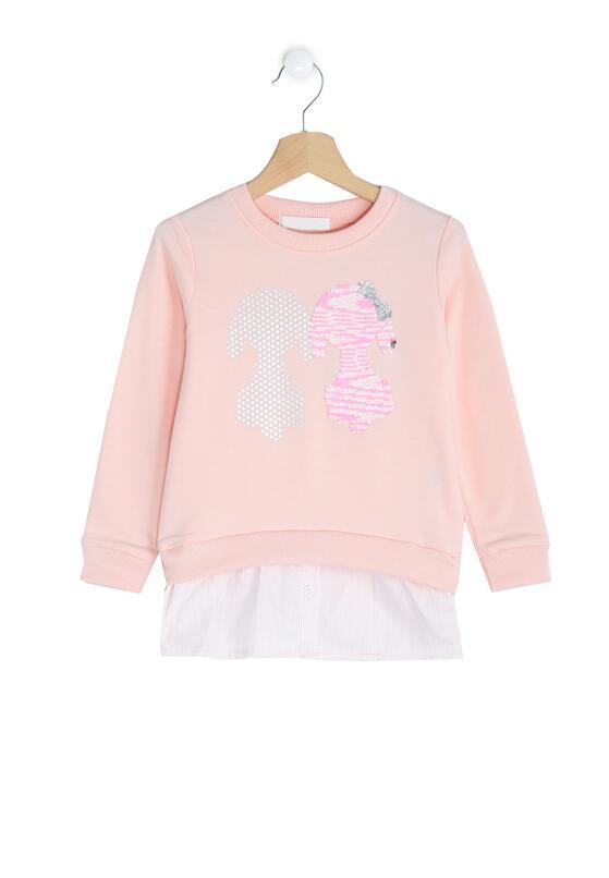 Różowa Bluzka Dalmatian