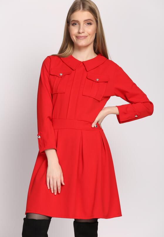 Czerwona Sukienka Restrict