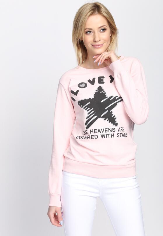 Różowa Bluza Good Morning
