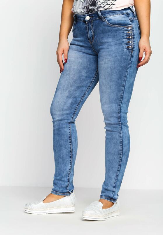 Niebieskie Jeansy Chop Into
