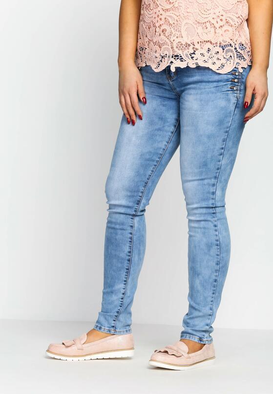 Niebieskie Jeansy Chop Up
