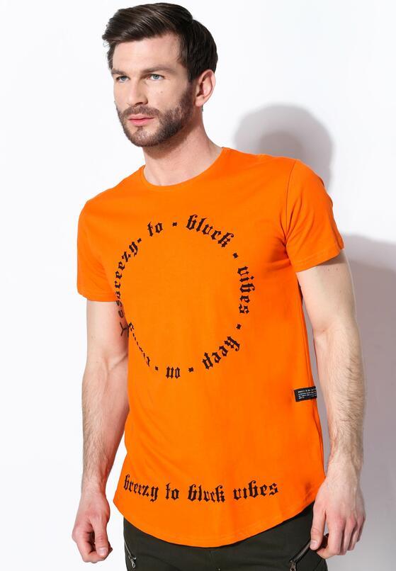 Pomarańczowa Koszulka Keep Out