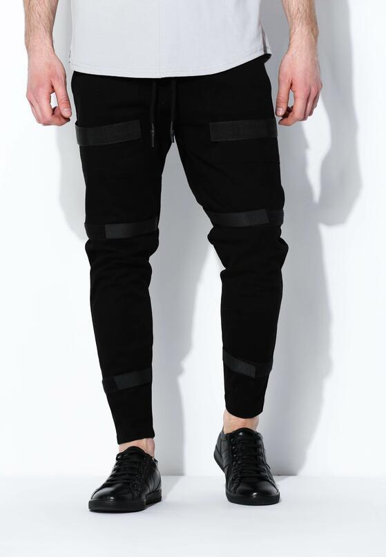 Czarne Spodnie Novelty