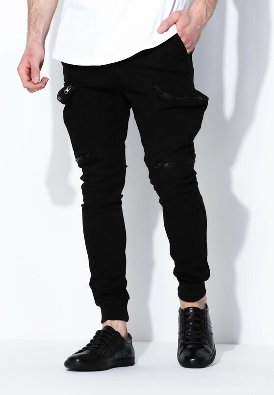 Czarne Spodnie Street Level