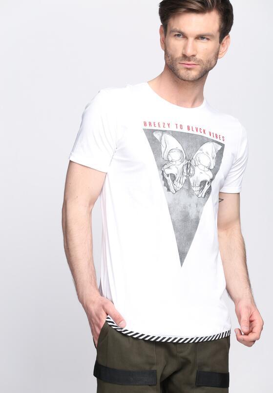 Biała Koszulka Eerie