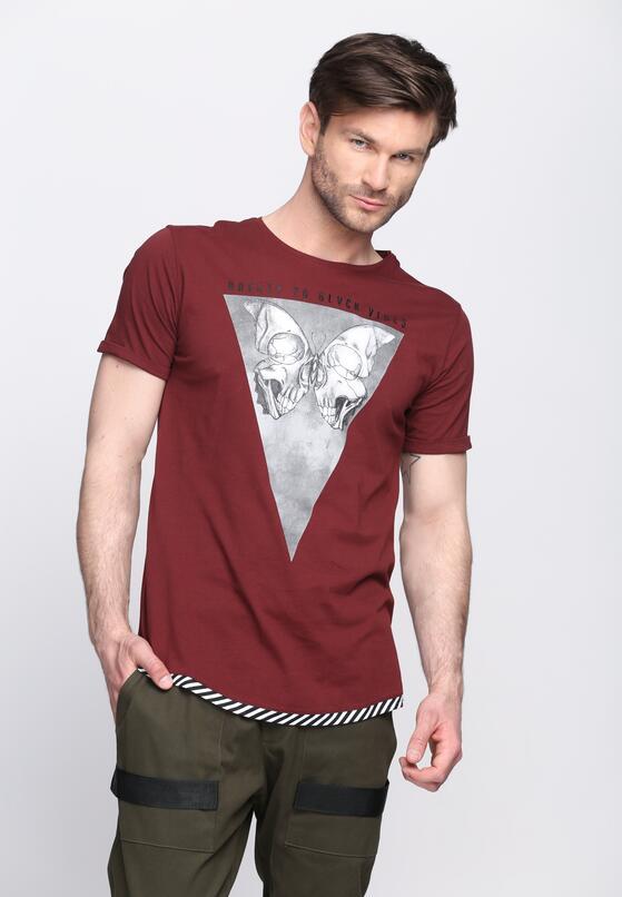 Bordowa Koszulka Eerie