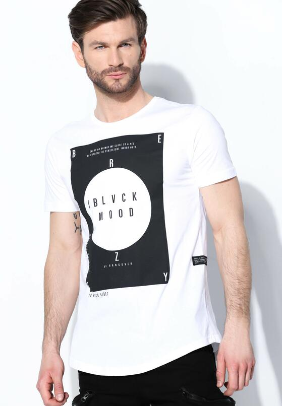 Biała Koszulka Black Mood